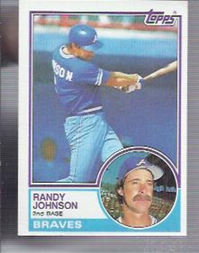 Photo of 1983 Topps #596 Randy Johnson