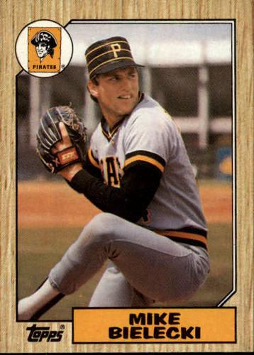 Photo of 1987 Topps #394 Mike Bielecki