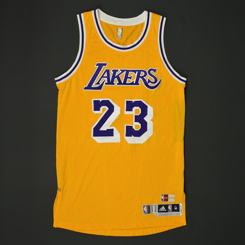 differently ae81e e71c6 Lou Williams - Los Angeles Lakers - Game-Worn Hardwood ...