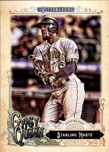 Photo of 2017 Topps Gypsy Queen #81 Starling Marte