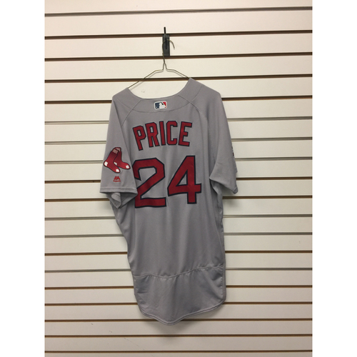 David Price Team-Issued 2016 Road Jersey