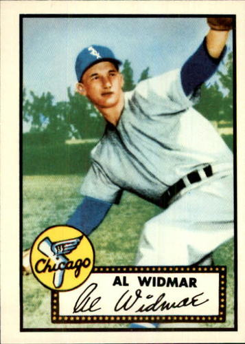 Photo of 1983 Topps 1952 Reprint #133 Al Widmar