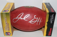 NFL - RAMS JARED GOFF SIGNED AUTHENTIC FOOTBALL