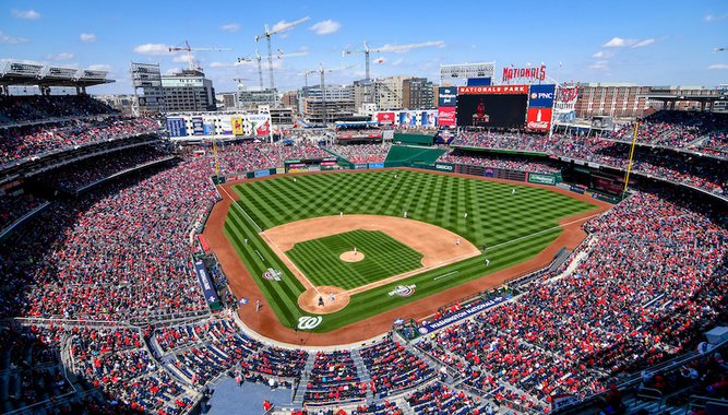 WASHINGTON NATIONALS GAME EXPERIENCE