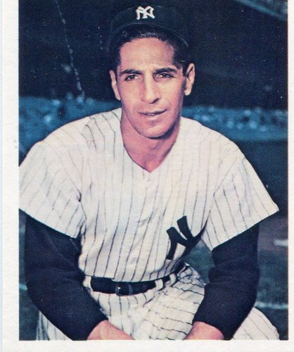Photo of 1982 GS Gallery All-Time Greats #10 Phil Rizzuto -- Hall of Fame Class of 1994
