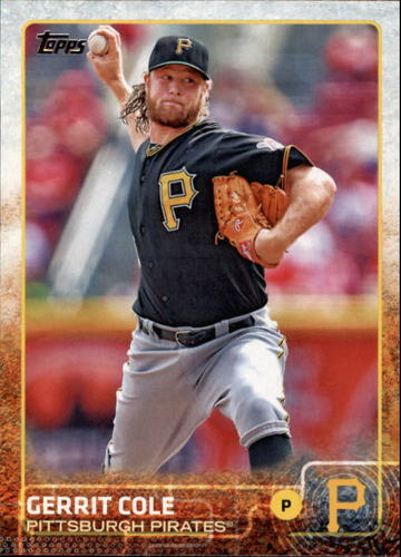 Photo of 2015 Topps #671 Gerrit Cole