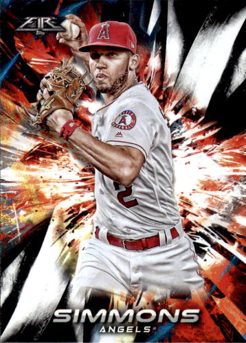 Photo of 2018 Topps Fire #135 Andrelton Simmons