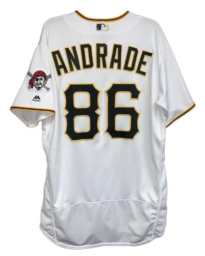 Photo of Heberto Andrade 2018 Game-Used Jersey