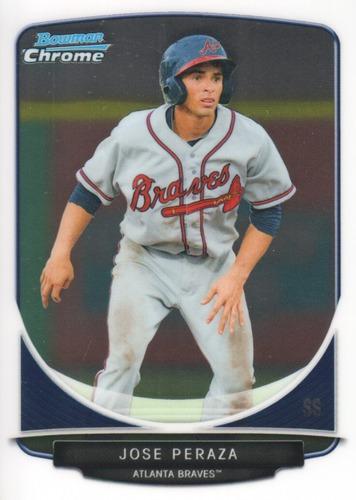 Photo of 2013 Bowman Chrome Prospects #BCP36 Jose Peraza