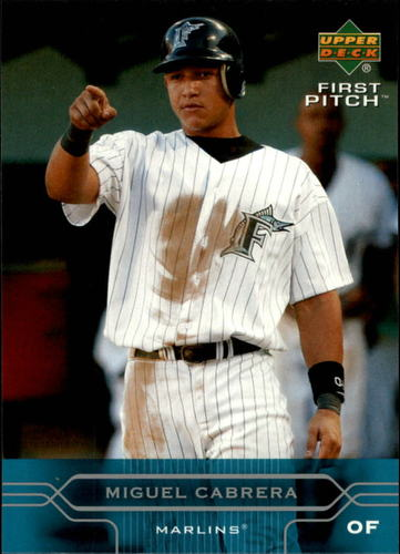 Photo of 2005 Upper Deck First Pitch #83 Miguel Cabrera