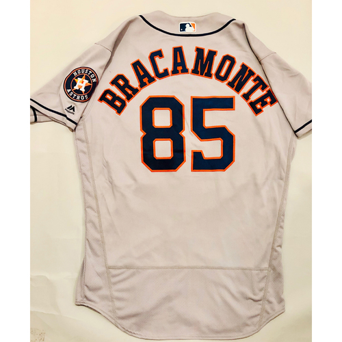 Photo of 2019 Mexico Series - Game-Used Jersey - Javier Bracamonte, Houston Astros at Los Angeles Angels - 5/4/19