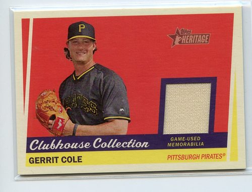 Photo of 2016 Topps Walmart Holiday Snowflake Relics #RGC Gerrit Cole