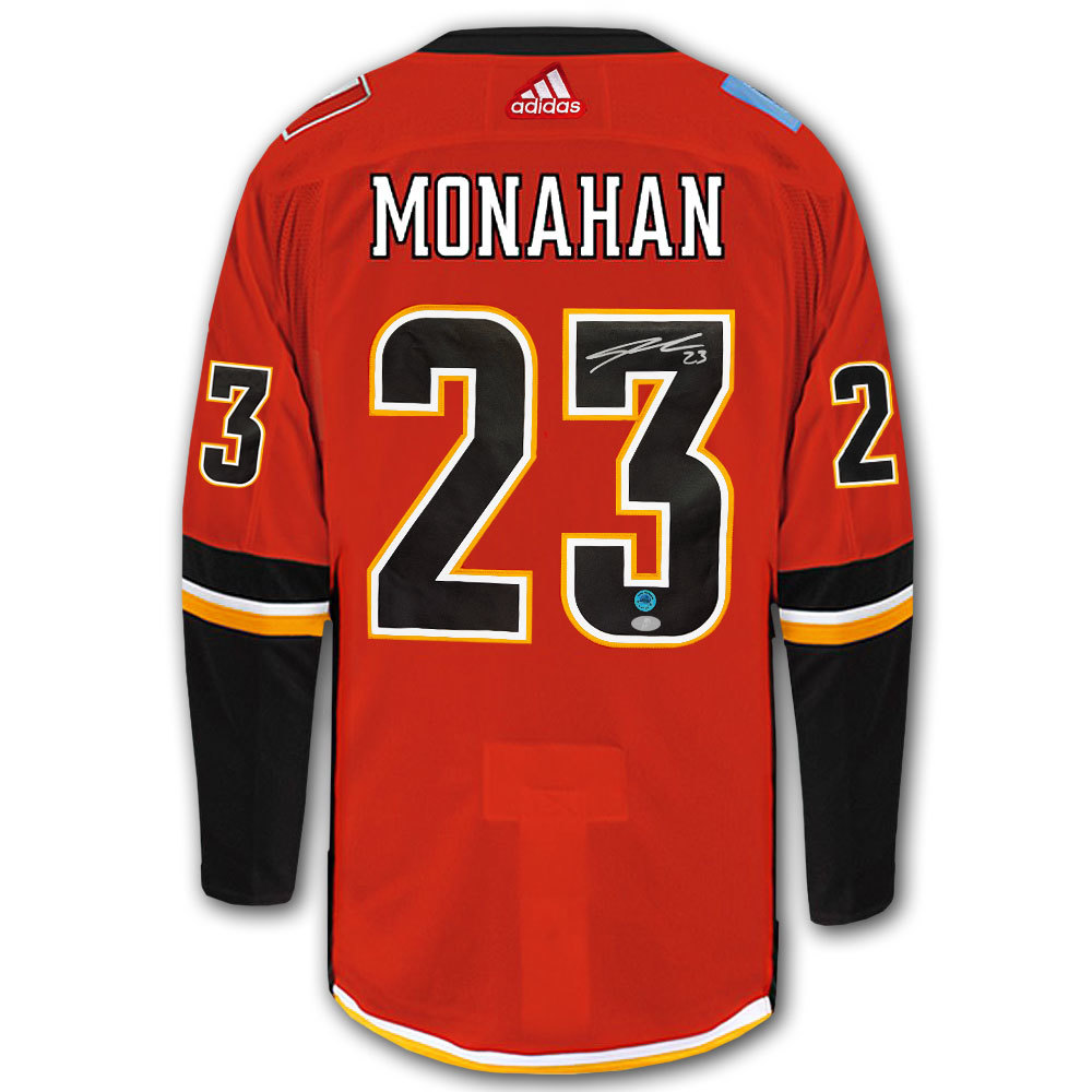 Sean Monahan Calgary Flames Adidas Pro Autographed Jersey