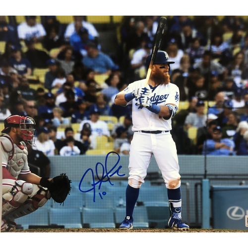 Photo of Justin Turner Authentic Autographed Photograph