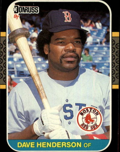 Photo of 1987 Donruss #622 Dave Henderson