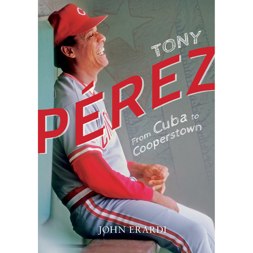 Photo of Tony Perez Book