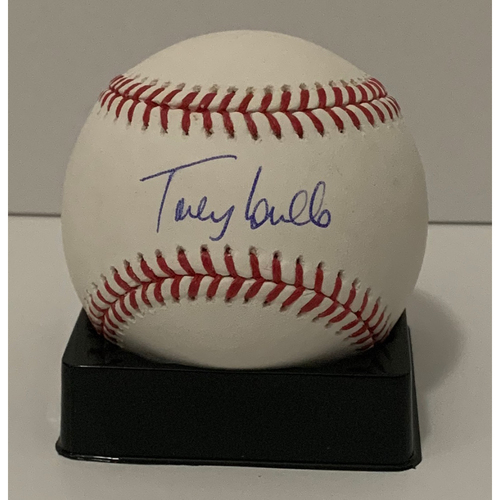 Photo of Torey Lovullo Autographed Ball