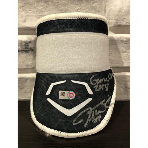 Jesse Winker -- *Autographed* Evo Shield -- Inscribed