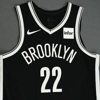Caris LeVert - Brooklyn Nets - NBA China Games - Game-Worn Icon Edition Jersey - Scored Game-High 22 Points - 2019-20 NBA Season
