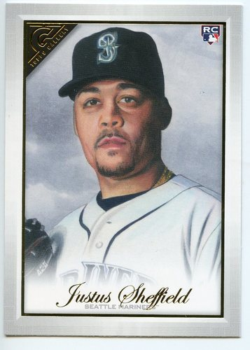 Photo of 2019 Topps Gallery #49 Justus Sheffield RC