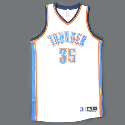 newest collection 4c922 58c09 Kevin Durant - Oklahoma City Thunder -Game-Worn Jersey - Kia ...
