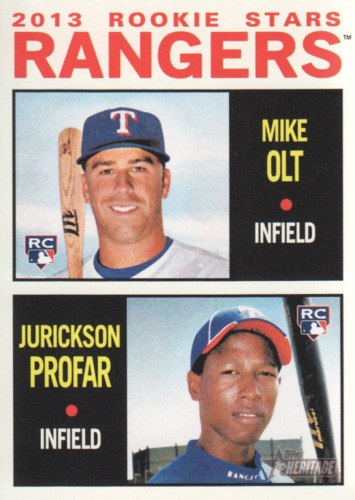 Photo of 2013 Topps Heritage #261 Mike Olt RC/Jurickson Profar RC