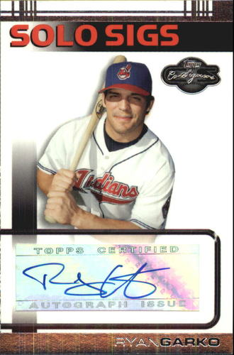 Photo of 2007 Topps Co-Signers Solo Sigs #RG Ryan Garko A