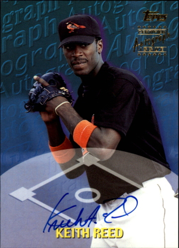 Photo of 2000 Topps Traded Autographs #TTA55 Keith Reed