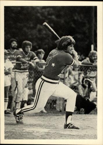 Photo of 1985 Topps Rose #7 Pete Rose/plays softball