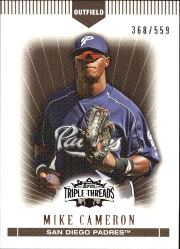 Photo of 2007 Topps Triple Threads Sepia #89 Mike Cameron
