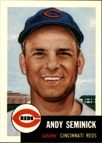 Photo of 1991 Topps Archives 1953 #153 Andy Seminick