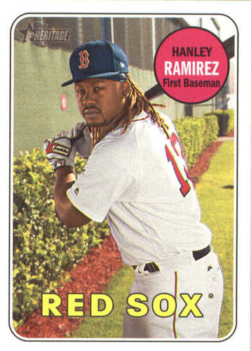 Photo of 2018 Topps Heritage #146 Hanley Ramirez