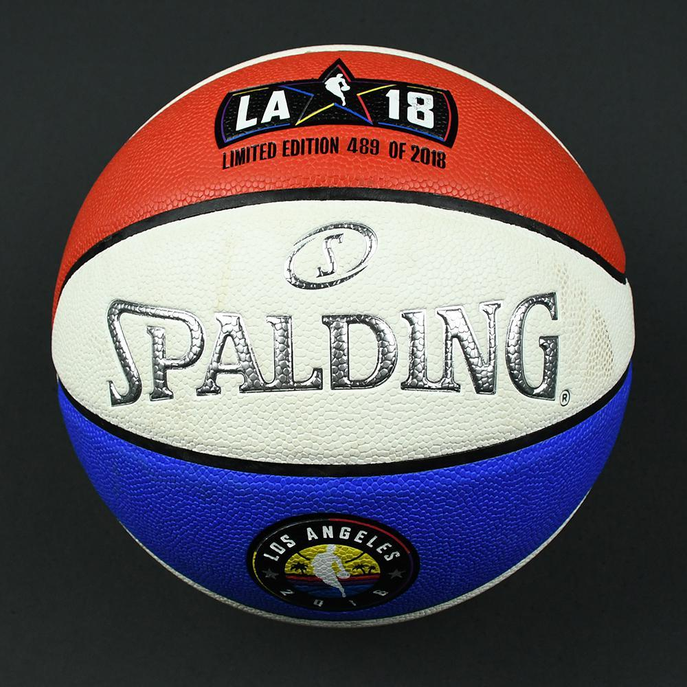 NBA All-Star 2018 - Verizon Slam Dunk Event-Used 'Money Ball' Basketball