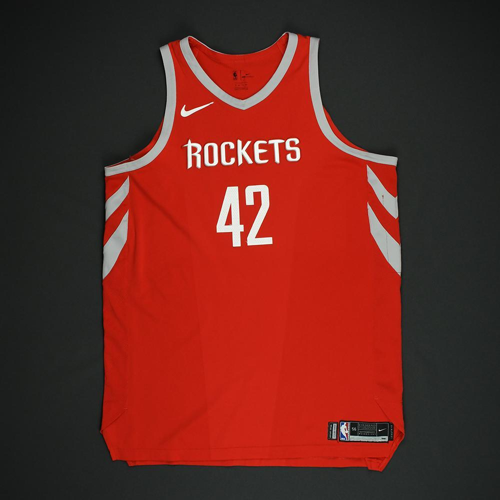 Nene - Houston Rockets - NBA Christmas Day '17 Game-Worn Jersey