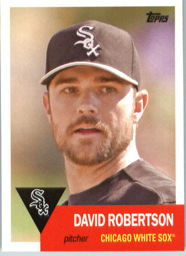 Photo of 2016 Topps Archives #70 David Robertson