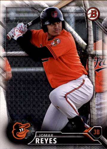 Photo of 2016 Bowman Draft #BD154 Jomar Reyes