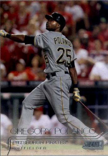 Photo of 2015 Stadium Club #41 Gregory Polanco