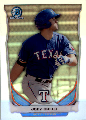 Photo of 2014 Bowman Chrome Draft Top Prospects Refractors #CTP80 Joey Gallo