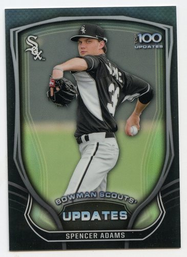 Photo of 2015 Bowman Chrome Bowman Scouts Update #BSUSA Spencer Adams