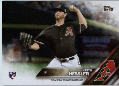 Photo of 2016 Topps #602 Keith Hessler RC