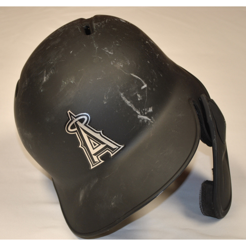 "Photo of Luis ""FIFO"" Rengifo Los Angeles Angels Game-Used 2019 Players' Weekend Helmet"