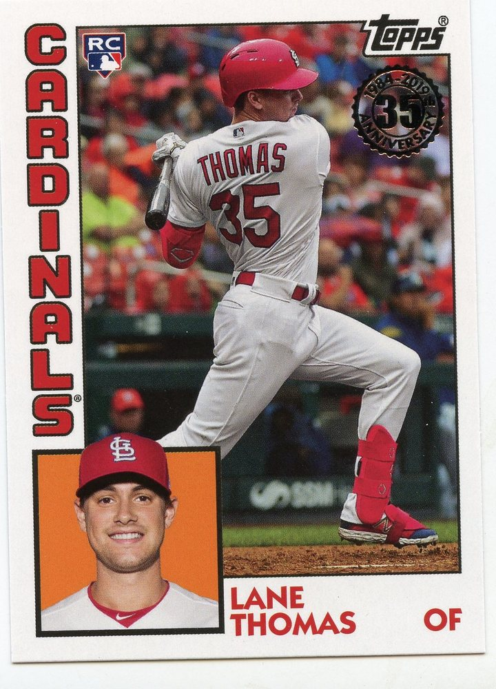 2019 Topps Update '84 Topps #8423 Lane Thomas