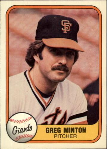 Photo of 1981 Fleer #449 Greg Minton