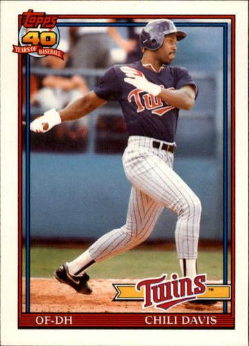 Photo of 1991 Topps Traded #27T Chili Davis