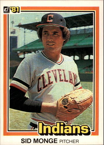 Photo of 1981 Donruss #81 Sid Monge