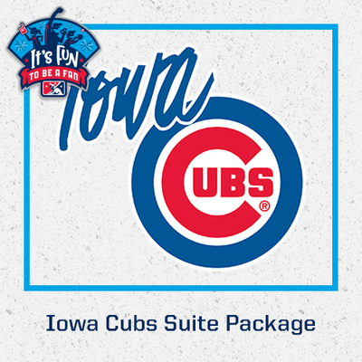 Iowa Cubs Suite Package