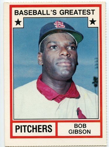 Photo of 1982 TCMA Greatest Pitchers #15 Bob Gibson