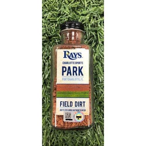 Photo of Rays Baseball Foundation: Spring Training Game Used Dirt Jar - Charlotte Sports Park