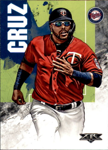 Photo of 2019 Topps Fire #104 Nelson Cruz