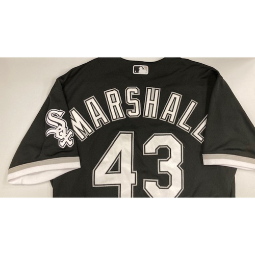 Photo of Evan Marshall 2020 Game-Used Spring Training Jersey - Size 46